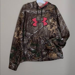 Under armor camouflage sweater